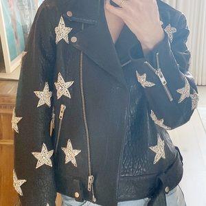Leather Coat LPA XS